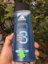 Dầu Adidas after Sport 3 trong 1 cho nam
