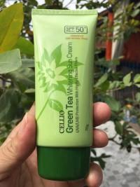 Kem chống nắng Cellio Green Tea Hàn Quốc