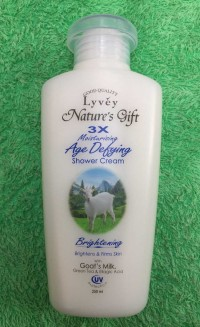 Sữa tắm Lyvey Nature's Gift 3X của Malaysia