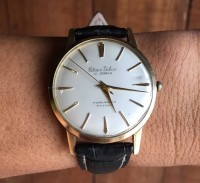 Đồng hồ nam lên dây thiều Cttizen Deluxe Nhật Bản