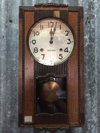 Seikosha treo tường gong tròn trong máy