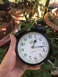 Đồng hồ báo thức audi chuông cơ