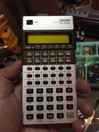 VINTAGE CASIO FX-502P PROGRAMMABLE CALCULATOR
