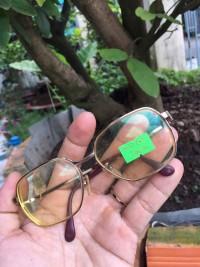 Gọng kính tròng cận cũ Nhật mã 01