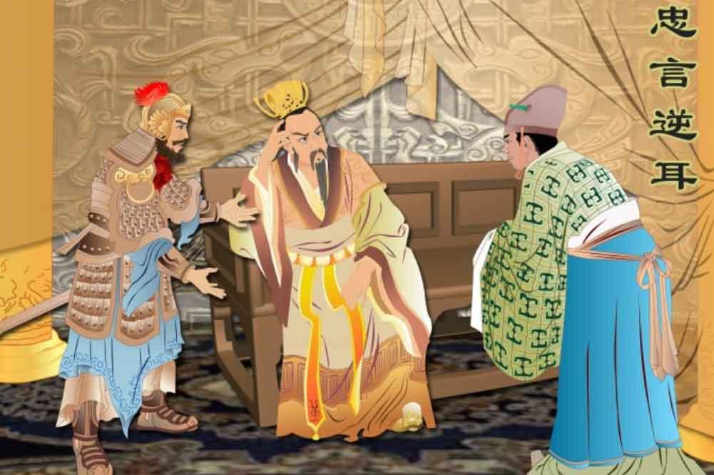 Trương Lương đề xuất sách lược cho Lưu Bang